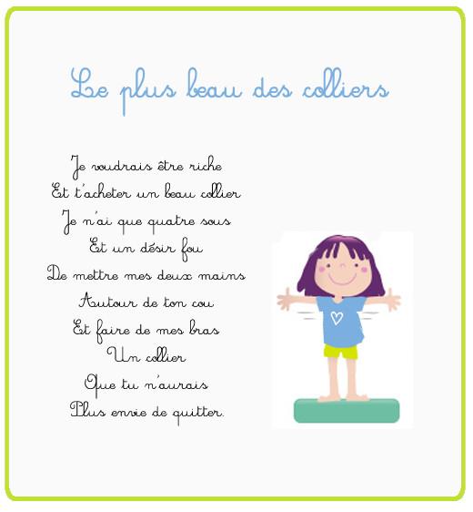 Citations et Panneaux Facebook à partager: Poèmes affectueux d ...