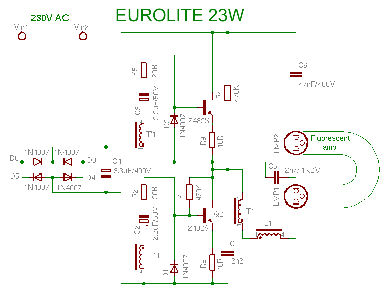 Ikea Polaris Electronics Tricks And Tips: Eurolite 23w Cfl Bulb