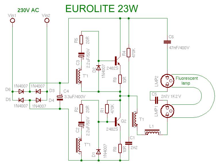 ELECTRONICS TRICKS AND TIPS: eurolite 23w CFL BULB