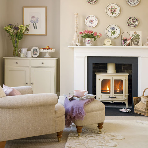 Living Room Decorating Ideas With Fireplace: Theme Design: 11 Living Room Fireplace Design Ideas