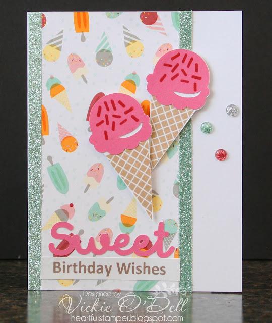 HeARTful Stamper: Sweet Birthday Wishes