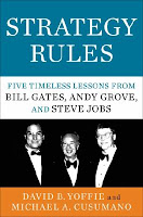 Strategy Rules: Five Timeless Lessons from Bill Gates, Andy Grove, and Steve Jobs by David Yoffie and Michael Cusumano