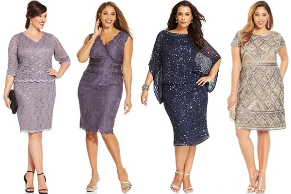 Plus Size Guest Wedding Dress Attire