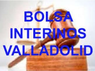Apertura Bolsa Interinos Gerencia Valladolid
