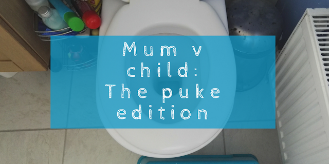 Mum v child: The puke edition - who copes better with being sick?