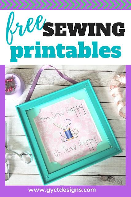 Sewing Printables