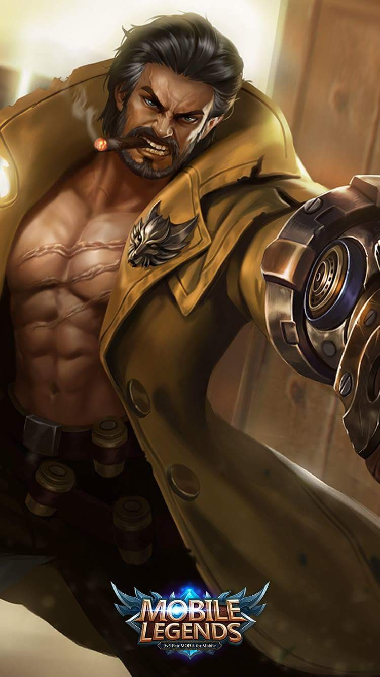 Roger Mobile Legends Wallpapers