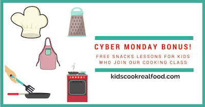 Black Friday Deals Kids Cook Real Food #BlackFriday #kidscook