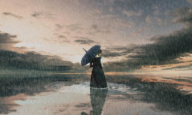 Reflect and Rain effect Photo Manipulation