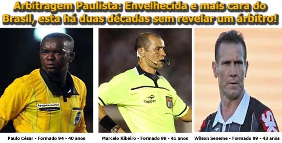 A arbitragem paulista é tida como exemplo para o resto do país e8fd76f1f22e3