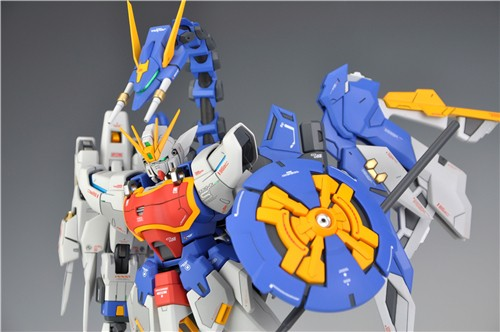 Custom Build: MG 1/100 Shenlong Gundam [Gundam Nataku Pack Version]