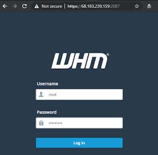 Cara Install cPanel dan WHM di VPS Centos 7 64 bit