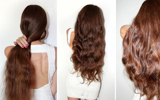 cheveux longs au naturel chatain coiffure