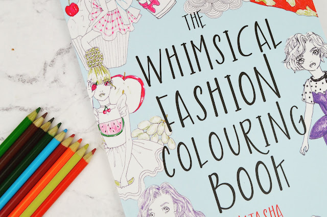 Lovelaughslipstick Blog - Natasha Itzcovitz The Whimsical Fashion Colouring Book Review