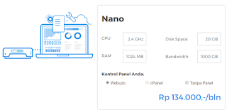 Cloud VPS Hosting Niagahoster Paket Nano
