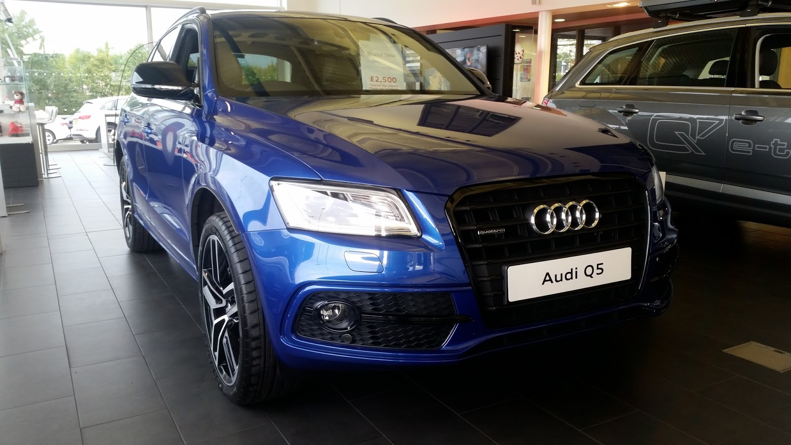 ... S-LINE PLUS. AUDI Q5 is first generation in model range of It. There  aren't any old generation AUDI Q5 in Its model ranges. AUDI Q5 has produced  since ...