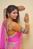 Lucky Sree in dasling Pink Saree and Orange Choli DSC 0379 1600x1063.JPG