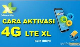 Aktivasi migrasi kartu XL 2G atau 3G ke 4G