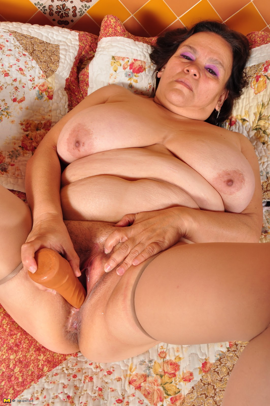 Older bbw lady en her black lover - 3 part 4
