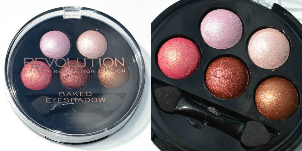 Makeup Revolution 5 Baked Eyeshadows - Chocolate Deluxe