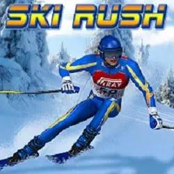 Eğlenceli Kayak Oyunu - Ski Rush Game