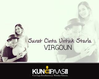 Kunci Chord Gitar Virgoun - Surat Cinta Untuk Starla