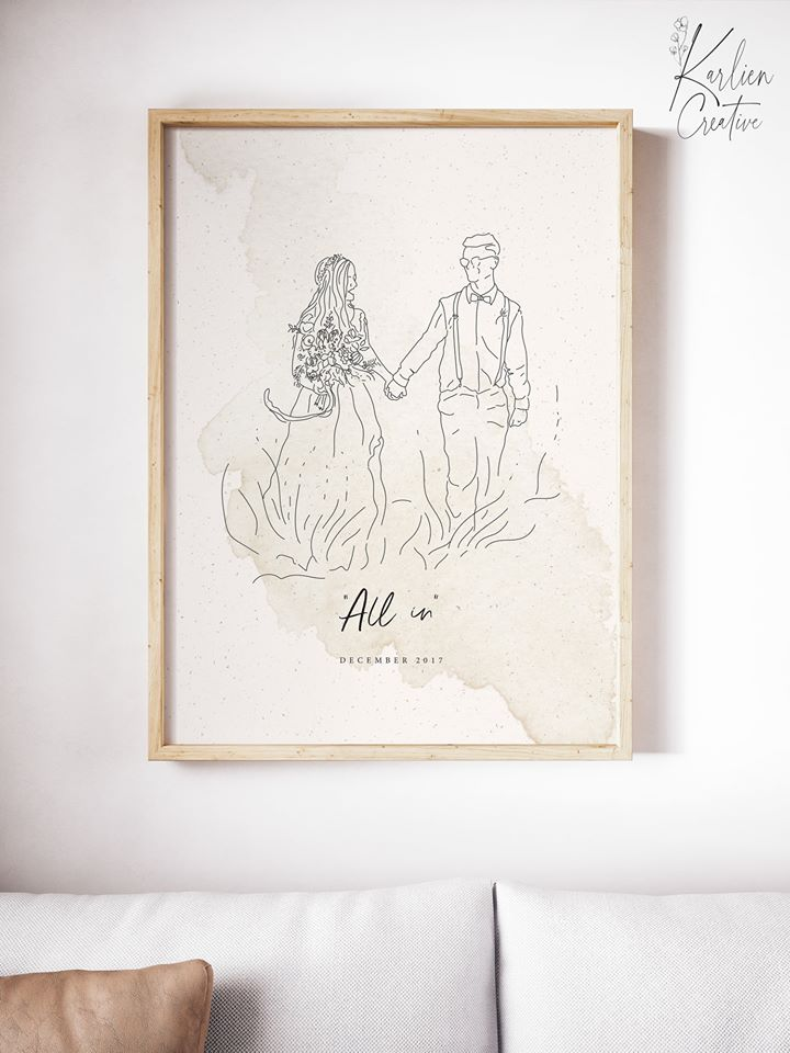 ORDER YOUR PERSONALISED LINE DRAWING
