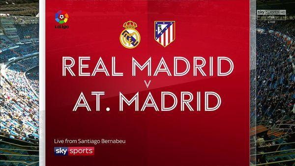 Horario y dónde ver: Real Madrid vs. Atlético de Madrid