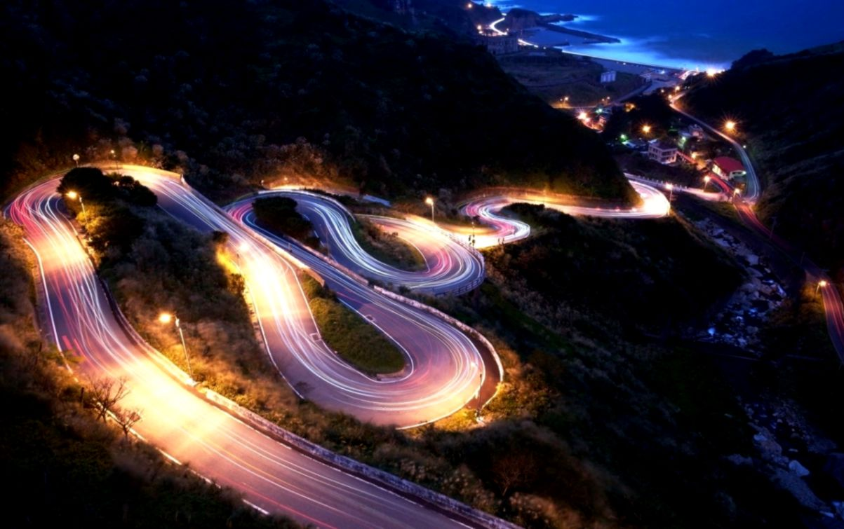 Cityscapes Streets Cars Drifting Roads Photography Wallpaper