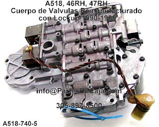 A Cuerpo De Valvulas Caja Auotmatica on 46re Transmission Identification