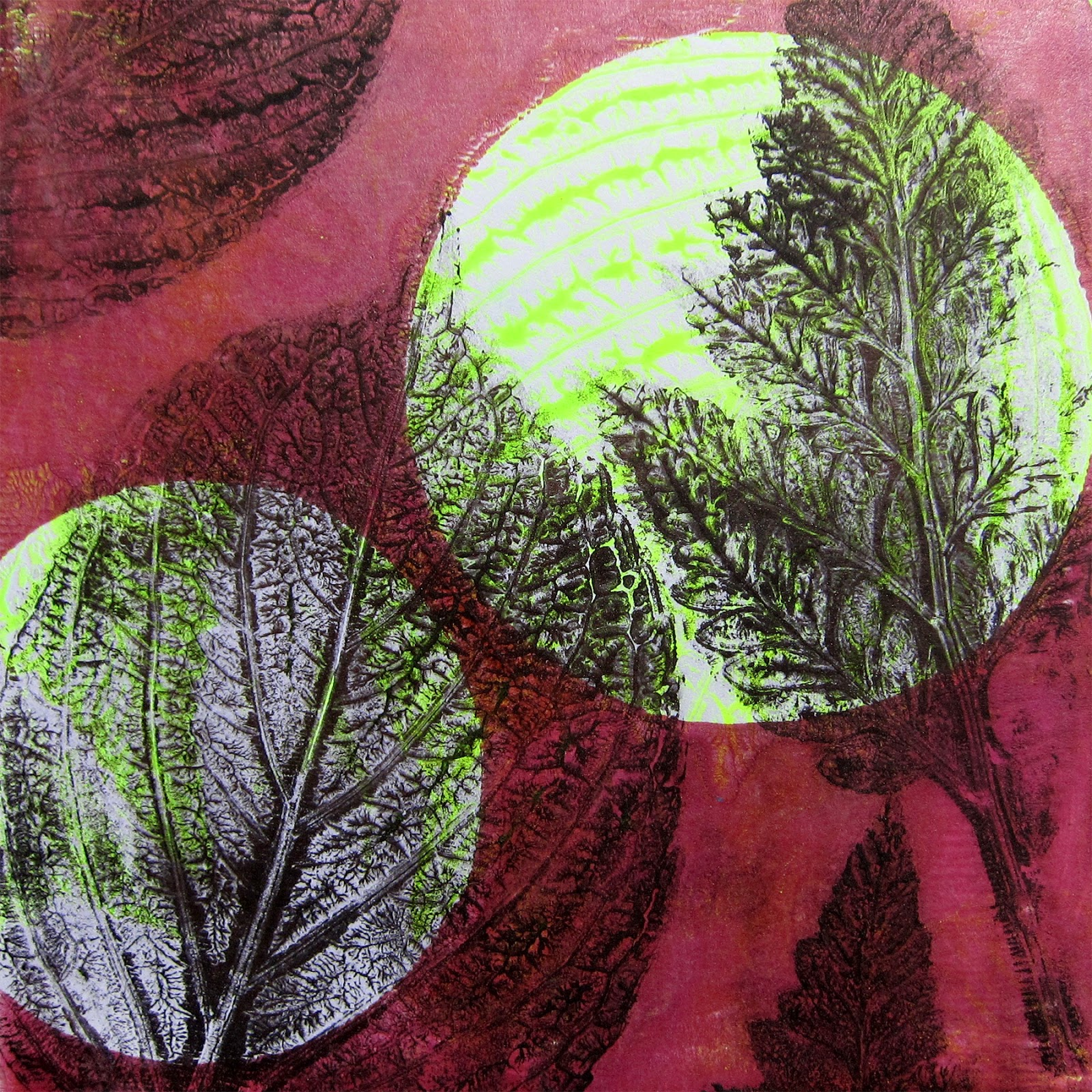 printing with gelli arts april 2016