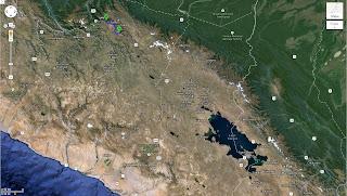 Trajeto detalhado de Cusco / Peru a Ollantaytambo / Peru - 78 km.