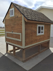 How to build a barn chicken coop