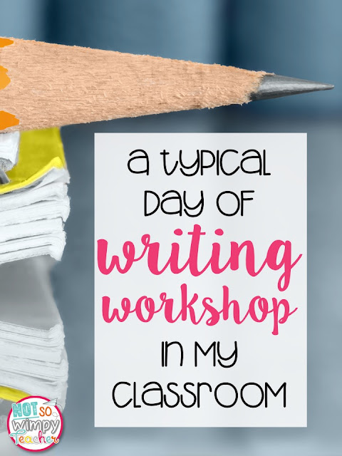 Take a look at how I use writer's workshop to teach writing everyday in my classroom.