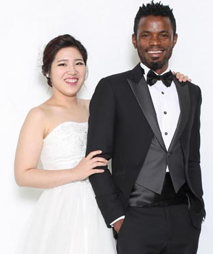nigerian marry south korean lady