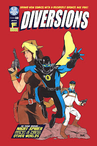 Diversions #1 features BRAND NEW stories by Ol' Groove!