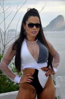 Musa Fitness Michelly Boechat se prepara para o carnaval