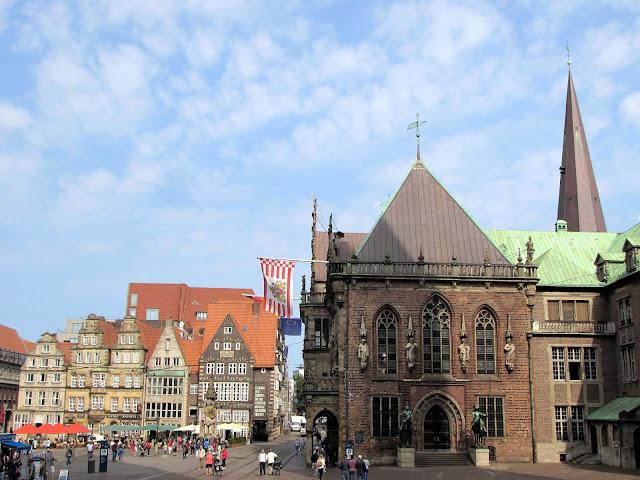 Bremer Rathaus; Marktplatz; Bremen; Brême; Alemania; Deutschland; Germany; Allemagne