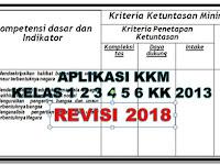 Download Aplikasi KKM/KBM K-2013 Kelas 1,2,3,4,5,6 SD/MI 2018/2019 - GURU NUSANTARA