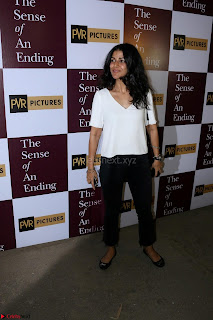 Nimrat Kaur and Naseeruddin Shah at Special Screening Of movie The Sense Of An Ending 03.JPG