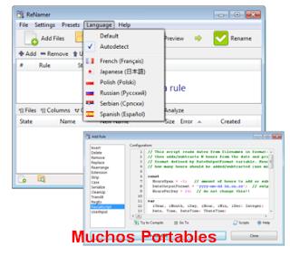 ReNamer Pro v6.1 Español Portable