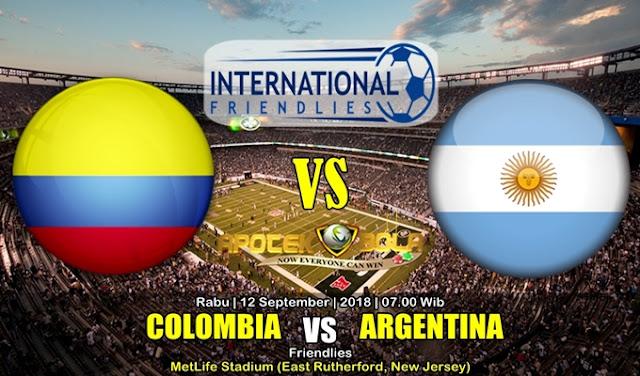 Prediksi Kolombia Vs Argentina 12 September 2018