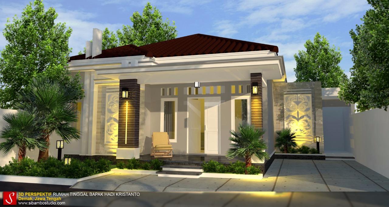 Desain Rumah Minimalis Di Lahan 115 X 135 M Yang Penuh Pesona