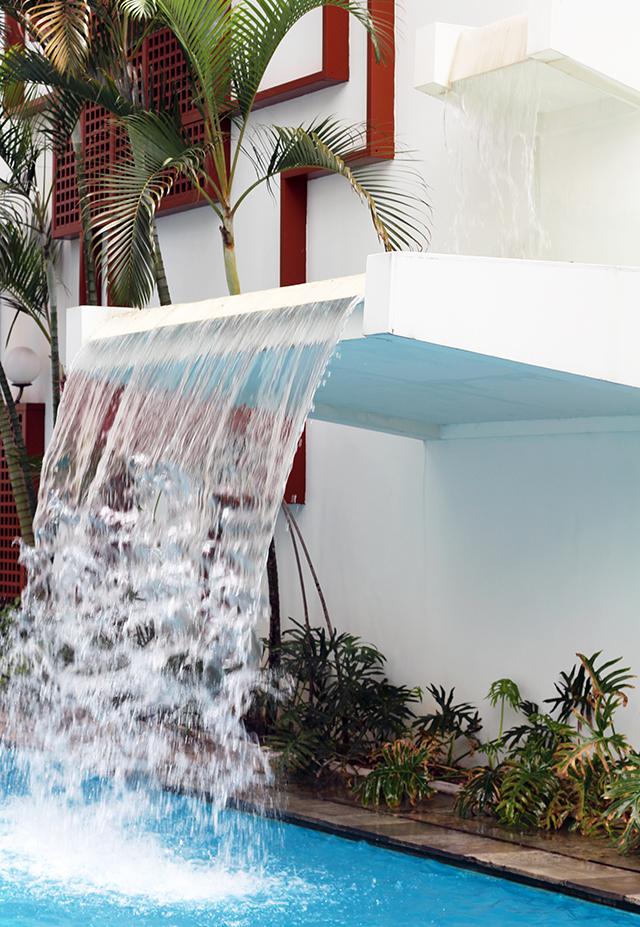 piscina hotel La Residence