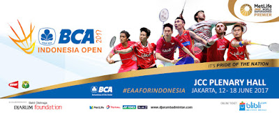 [Feature]Live Streaming BCA Indonesia Open 2017