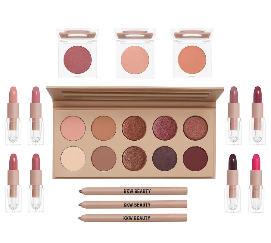 kkw kim kardashia west beauty cherry blossom collection makeup