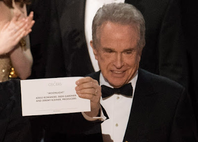 best picture, Moonlight, Warren Beatty, Oscar-díjak, Oscar-gála 2017