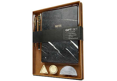 Kmart Marble-Look Stationery Gift Set