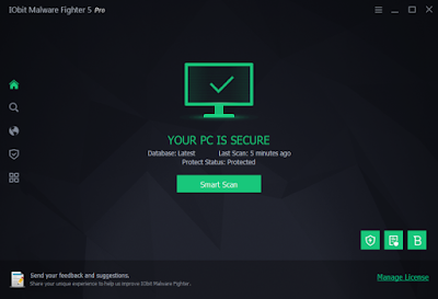 Screenshot IObit Malware Fighter Pro 5.5.0.4388 Full Version