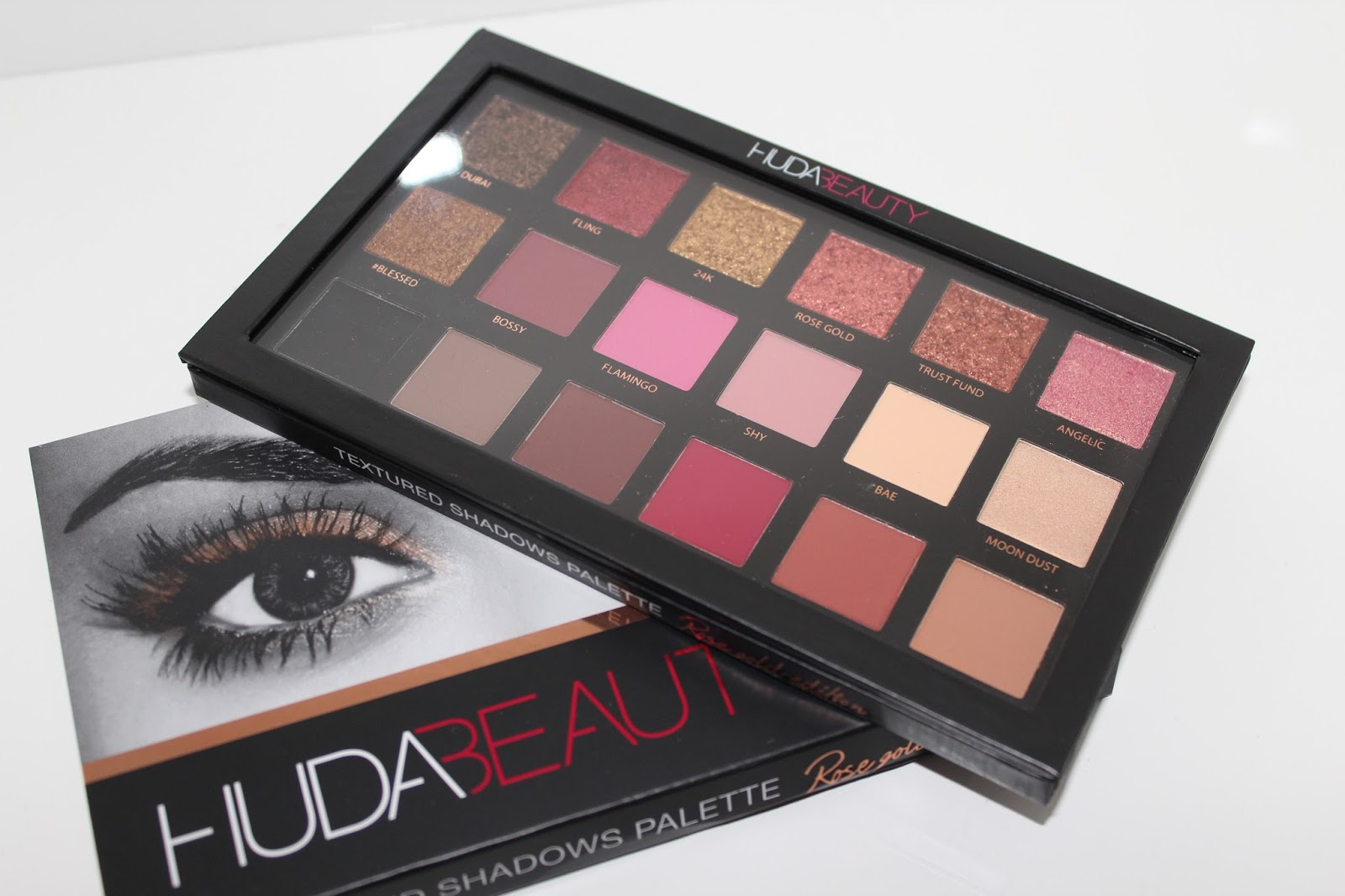 Huda Beauty Rose Gold Edition Palette Bags Of Beauty Bloglovin